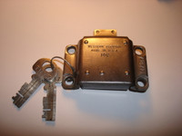 3 Slot payphone   Western Electric vault door Lock Original #14