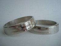 F1 handset  Chrome plated brass  rings for 302 and 202 telephone