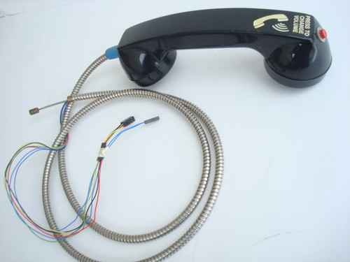 Payphone Adjustable Hearing Aid Handset Comes With Armored