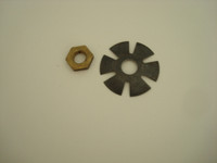 Fingerwheel  nut and star washer for #5, #4 and #2 dials