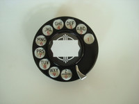 Automatic Electric dial in Black