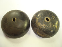 "Brass 2 1/2""  Gongs or bells   Set of 2"