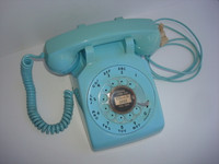 Western electric Blue 500 telephone dated 1966