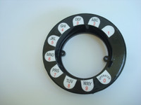 Western Electric  / Northern Electric 233G payphone   Daisy dial plate and shroud