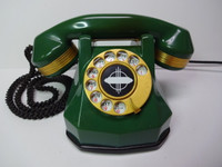 Automatic  Electric  Jade Green AE 40 with  24Kt gold Trim