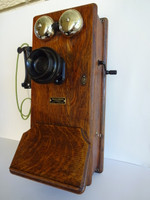 Western Electric Wooden Wall Telephone