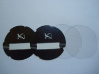 2 Kellogg Number cards with the  Griffin and 2 Acetate  discs die cut