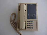 2 Line phone reliable business wall  phone old type NOS reliable GTE