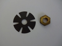 Western Electric Dial nut and washer for #2 , #4, #5 and #6 dial