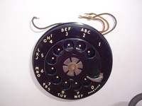 Western Electric #7 Dial for 500 series telephones restored
