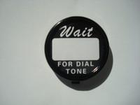 "Western Electric  "" Script"" Dial Center set   5pc"