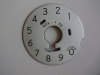 Western Electric 150A Porcelain dial plate for #4 and #5 dials
