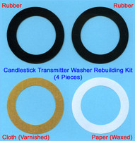 Candlestick Transmitter Reproduction Washers