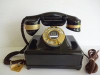 Automatic Electric   #2 Monophone W/  24Kt Gold Plated hardware