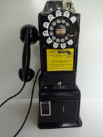 Western Electric 3 slot Payphone model 195