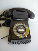 Kellogg Bakelite wall phone model 1040 Art Deco