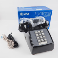 Black 2500 Touch Tone phone  New Old Stock