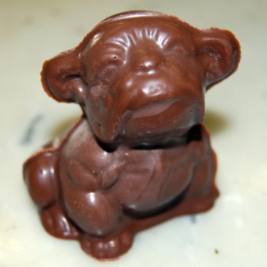 Hollow, 4oz Chocolate Bulldog