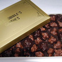 Dark and Milk Chocolate Covered Nuts Assortment