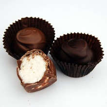 Dark and Milk Chocolate Vanilla Creams