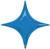 "20"" Sapphire Blue Starpoint Mylar Foil Balloon"