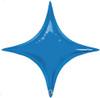 "40"" Sapphire Blue Starpoint Mylar Foil Balloon"
