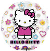 "28"" Hello Kitty Jumbo Mylar Foil Balloon"