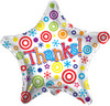 "18"" Thanks! Star Mylar Foil Balloon"