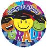"""18"""" Grad Smiles Non-Foil Balloons"""