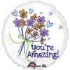 "18"" You're Amazing Mylar Foil Balloon"