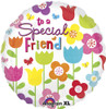"18"" To A Special Friend Mylar Foil Balloon"