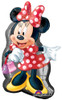 "31"" Minnie Mouse Full Body Shape Mylar Foil Balloon"