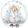 "17"" Pooh Baby Boy Mylar Foil Balloon"