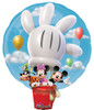 "28"" Mickey Hot Air  Shape Mylar Foil Balloon"