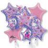 Rock Star Birthday  Bouquet Mylar Foil Balloons