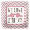 "18"" Welcome Little Lady Mylar Foil Balloon"