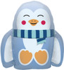 "14"" Fuzzy Penguin  Air-Fill  Mylar Foil Balloon"