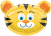 "14"" Tiger Head Air-Fill  Mylar Foil Balloon"
