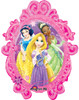 "31"" Princess Frame Shape Mylar Foil Balloon"