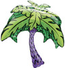 "33"" Palm Tree Shape Mylar Foil Balloon"
