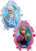 "31"" Frozen Anna & Elsa Shape Mylar Balloon"