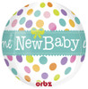 "16"" Orbz New Baby Balloon"