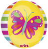 "16"" Orbz Spring Butterfly Balloon"