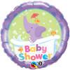 "18"" Baby Shower Elephant Foil Balloon"