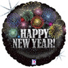 "18"" New Year Fireworks Foil Balloon"