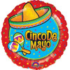 "18"" Cinco De Mayo Foil Balloon"