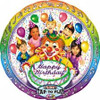 "28"" Singing Clown Mylar Foil Balloon"