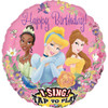 "28"" Singing Princess Mylar Foil Balloon"