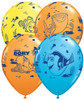 "11"" Dory & Friends Assortment Latex Balloons"