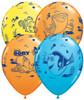 "11"" Dory & Friends Assortment Latex Balloons"